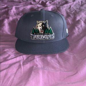 NWOT New Era Minnesota Timberwolves Hat Cap 7 1/4